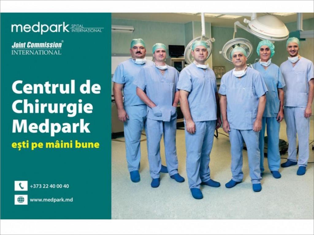 La Centrul de Chirurgie Medpark ești pe mâini bune! (P)