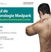 Consultații gratuite pentru bolnavii de scolioză la Centrul de Vertebrologie Medpark (P)