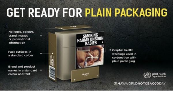 Ziua Mondială fără tutun 2016//OMS face apel către guverne să se pregătească de introducerea în circuit a ambalajelor simple pentru produsele din tutun și conexe