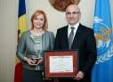 Cea mai înaltă distincție a OMS a ajuns în Moldova!