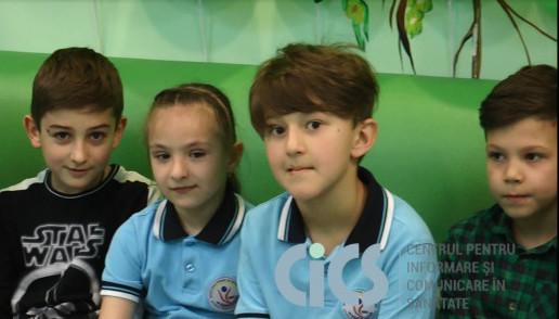Proiectul Ora de Sănătate pentru Copii a startat la Oculus-Prim